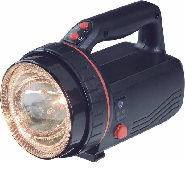 Torce con batterie ricaricabili - IVT PL-838LB Lampada portatile a batteria LED & halogen lantern, DC jack Nero Lampadina Alogena, LED 30 h -