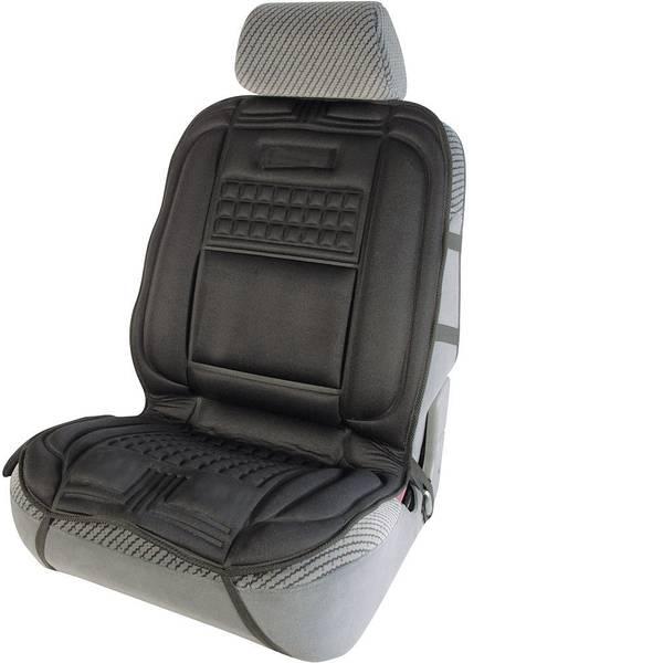 Coprisedili riscaldati e rinfrescanti per auto - Rivestimento riscaldante per sedile 12 V Funzione massaggio Nero -