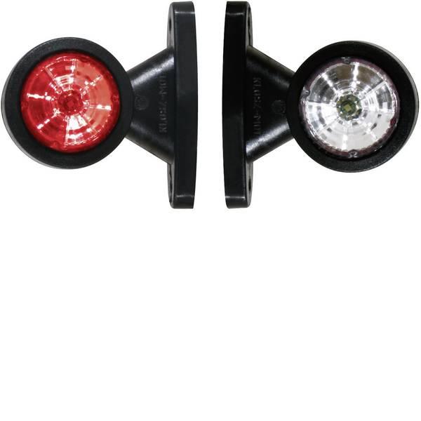 Illuminazione per rimorchi - Fristom LED Luce di ingombro Luce di segnalazione destra, sinistra 12 V, 24 V Rosso, Bianco -