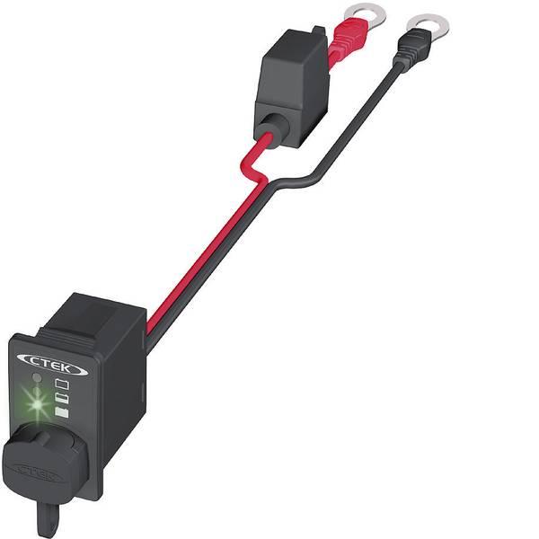 Accessori per caricabatterie da auto - Presa di carica con indicatore di carica Capocorda ad anello M8 CTEK 56-380 Comfort Indikator M8 -