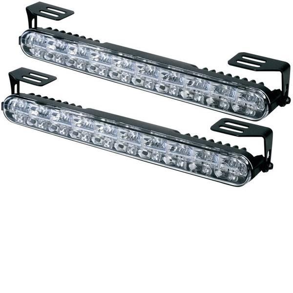 Luci diurne e fendinebbia - DINO 610790 610790 Luce di marcia diurna, Luce di posizione LED (L x A x P) 230 x 28 x 35 mm -