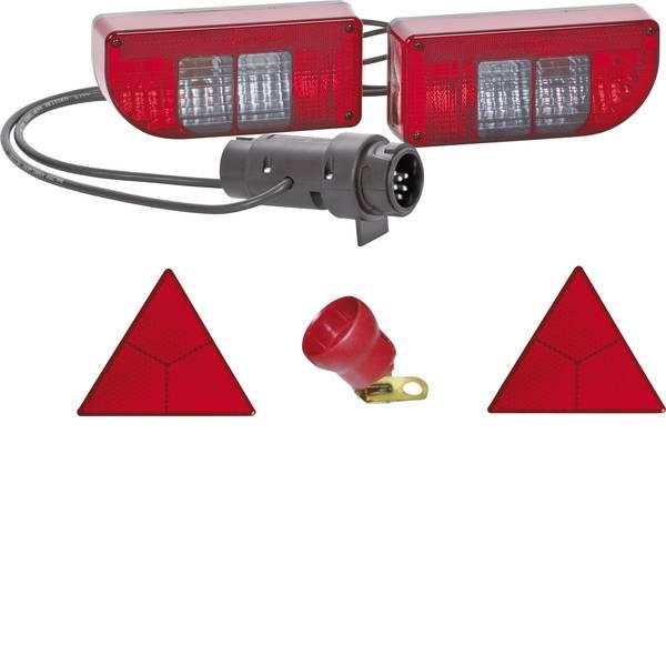Illuminazione per rimorchi - Kit illuminazione per rimorchio Lampadina ad incandescenza 7/13 poli posteriore 12 V SecoRüt Vetro trasparente -