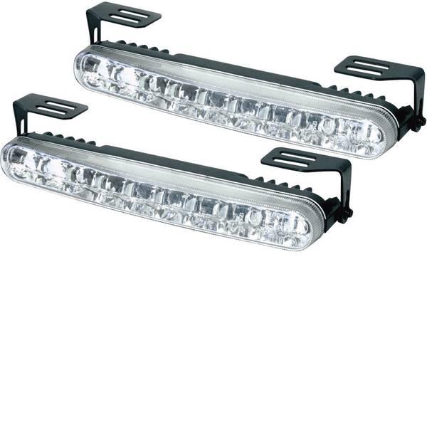 Luci diurne e fendinebbia - DINO 610791 Luce di marcia diurna LED (L x A x P) 182 x 24 x 43 mm -