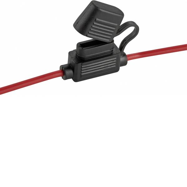 Portafusibili auto - Basetech Portafusibili piatti auto Mini fusibili a lama Poli 1 30 A 3.3 mm² 1 pz. -