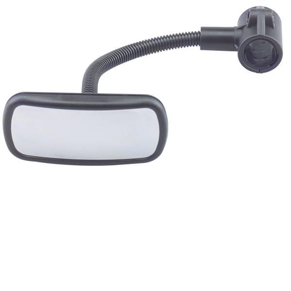 Accessori comfort per auto - Specchietto a collo di cigno Herbert Richter 187/13/40 102 mm x 42 mm con collo di cigno, Montaggio a morsetto -
