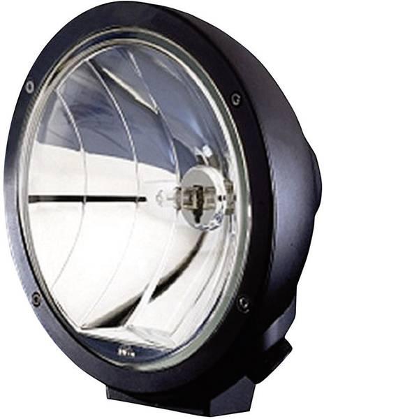 Faretti per auto - Faretto abbagliante Luminator Compact Metal H1 Hella (Ø x P) 170 mm x 114 mm Nero (opaco) -