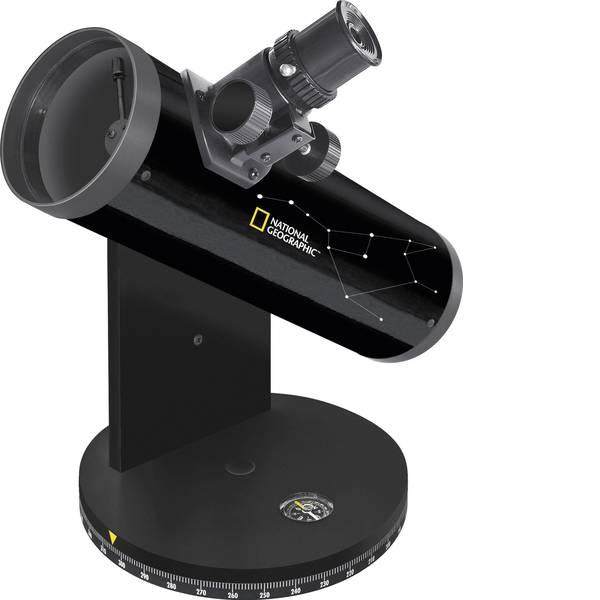 Telescopi - Telescopio a specchi National Geographic 76/350, DOBSON Azimutale Dobson, Ingrandimento 18 fino a 117 x -