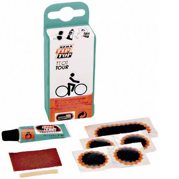 Utensili per bicicletta - Kit di riparazione per bicicletta 5 parti Tip-Top TT-01 Tour -