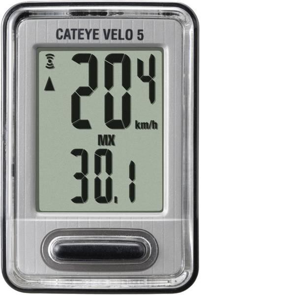 Computer per biciclette - Ciclocomputer Cateye CC-VL520 trasmissione via cavo con sensore a ruota -
