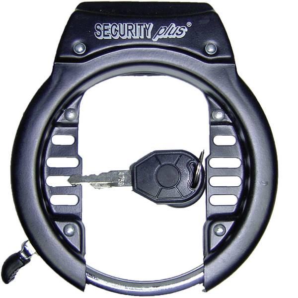 Lucchetti da bicicletta - Lucchetto per telaio Security Plus RS60 Nero Lucchetto a chiave -