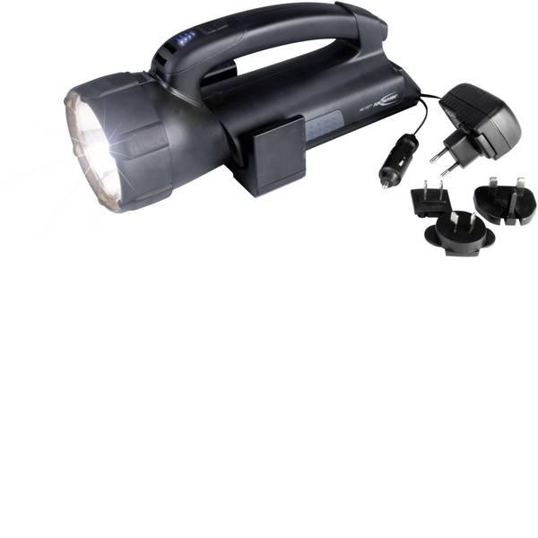 Torce con batterie ricaricabili - Ansmann 5102143 Lampada portatile a batteria ASN 15HD plus Nero Lampadina Alogena, LED 6 h -