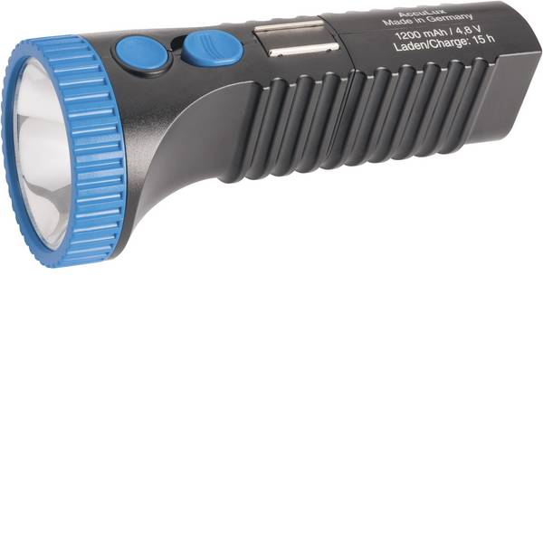 Torce tascabili - AccuLux PowerLux LED Torcia tascabile a batteria ricaricabile 200 lm 6 h 215 g -