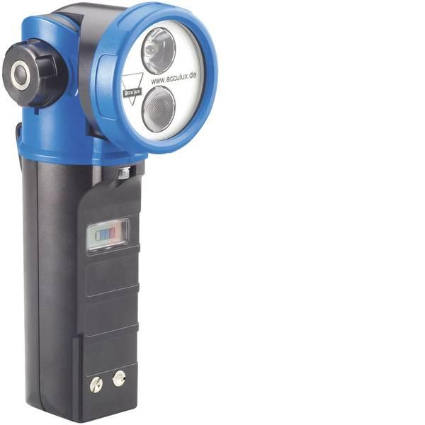 Torce con batterie ricaricabili - AccuLux 459681 Lampada portatile a batteria HL 20 Nero-Blu LED 10 h -