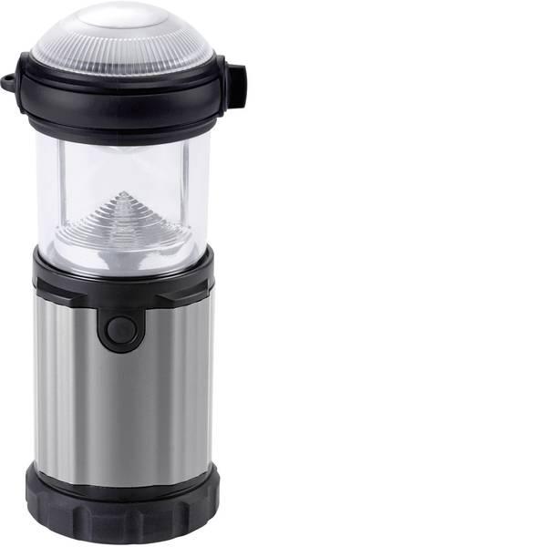 Lampade per campeggio, outdoor e per immersioni - LED Lanterna da campeggio Ampercell Montana 130 lm a batteria 315 g Nero - Argento 10425 -