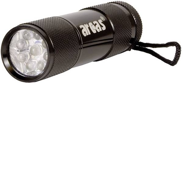 Torce tascabili - Arcas Alu 9 LED LED Mini torcia elettrica a batteria 65 g -