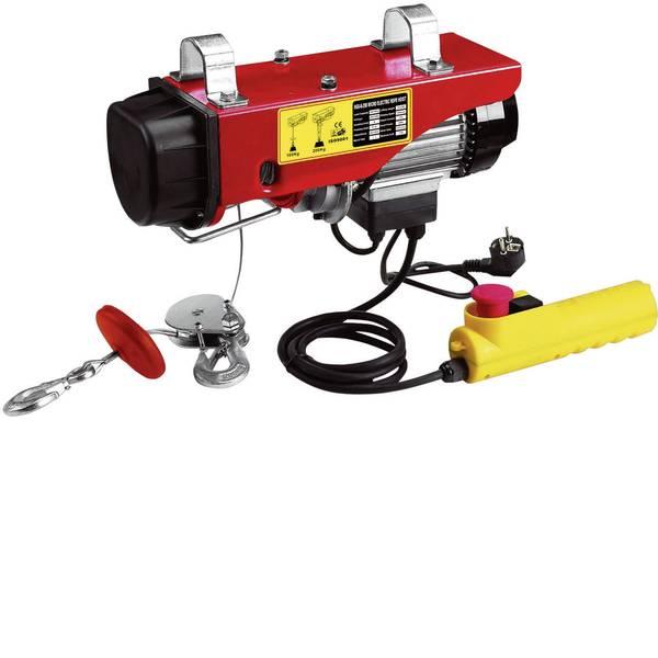 Paranchi - Berger & Schröter 60379 Paranco elettrico a corda 12 mCapacità di carico (con/senza puleggia): 125/250 kg -