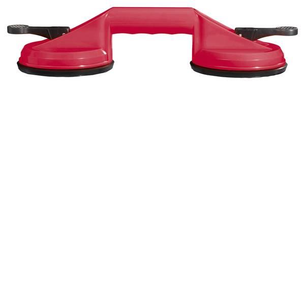 Martinetti - TOOLCRAFT, ventosa doppia con maniglia capacità: 70 kg -