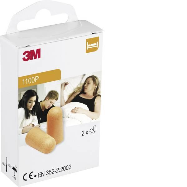Tappi per la protezione dell`udito - 3M XA007703631 1100P Tappi per le orecchie 37 dB usa e getta 2 Paia -