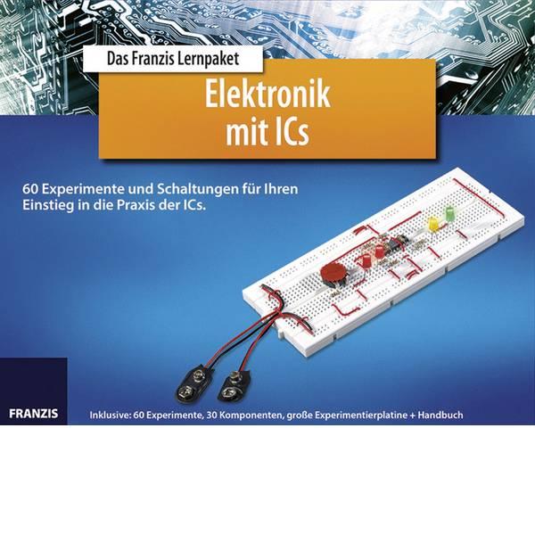 Pacchetti di apprendimento elettrici ed elettronici - Franzis Verlag Elektronik mit ICs 65197 Pacchetto di apprendimento da 14 anni -