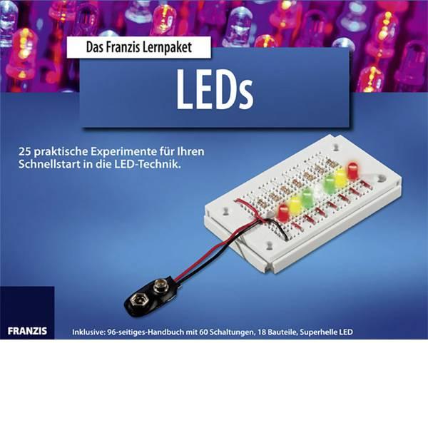 Kit esperimenti e pacchetti di apprendimento - Pacchetto di apprendimento Franzis Verlag LEDs 65065 da 14 anni -