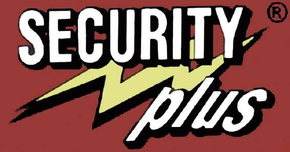 Security Plus KS 140 Catena con lucchetto Nero Lucchetto a chiave