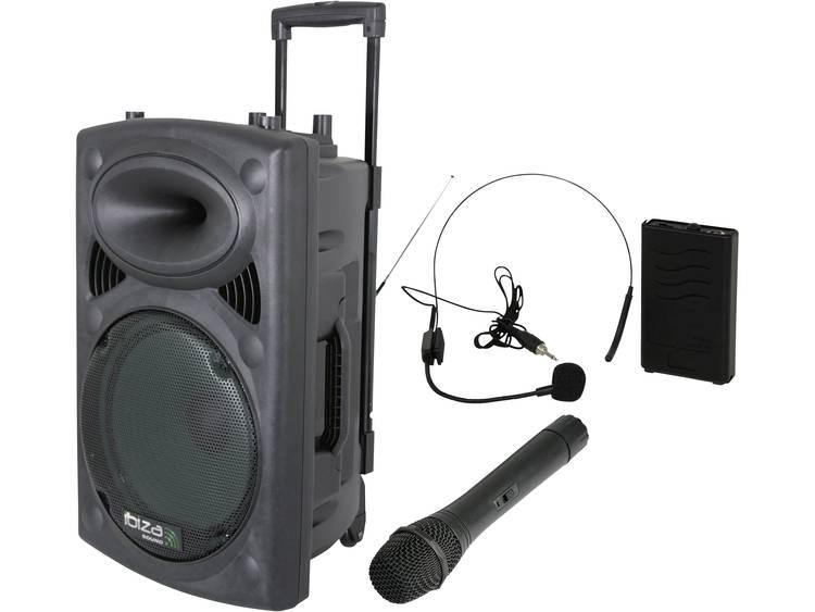 Ibiza Sound PORT12VHF Bluetooth Mobiele PA-luidspreker 30 cm 12 inch 1 stuk(s)
