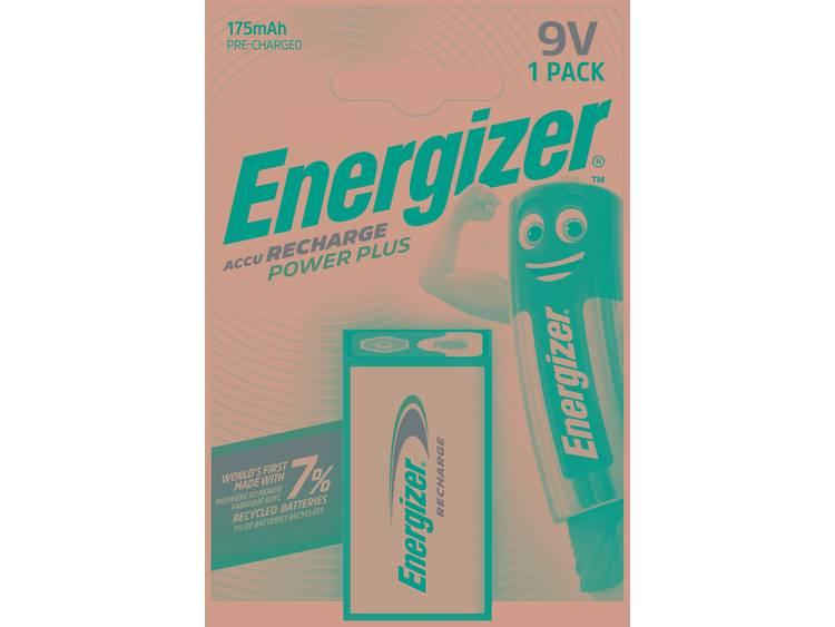 Energizer Power Plus 6LR61 Oplaadbare 9V batterij (blok) NiMH 8.4 V 175 mAh 1 stuk(s)
