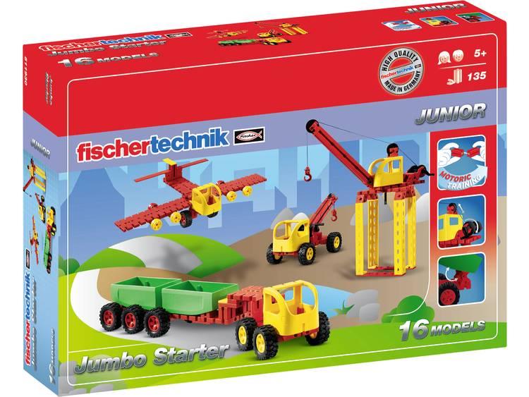 Fischertechnik Constructie Set Jumbo Starter 135 delig