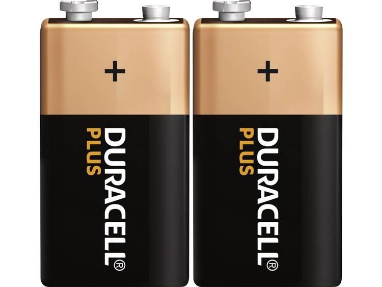 Duracell Plus 6LR61 9V batterij (blok) Alkaline 9 V 2 stuk(s)