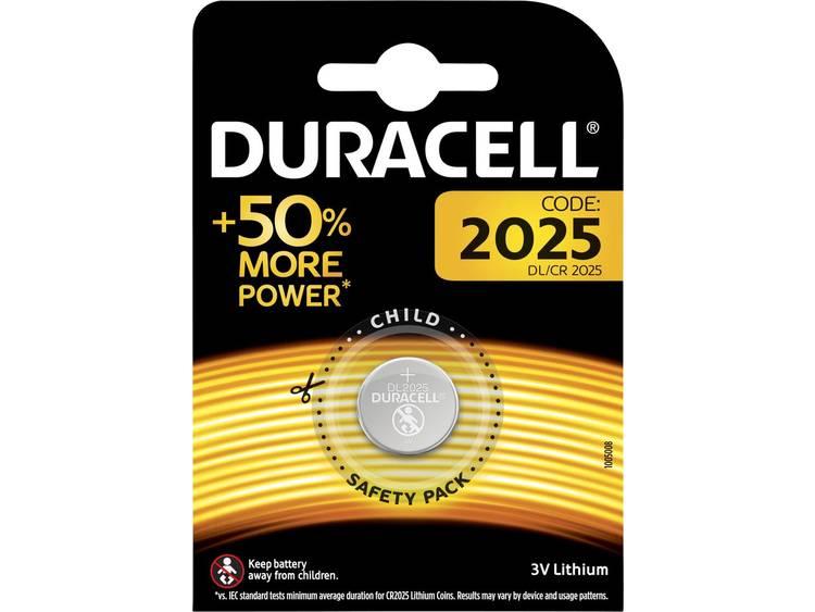 CR2025 Knoopcel Lithium 3 V 165 mAh Duracell Elektro 2025 1 stuk(s)