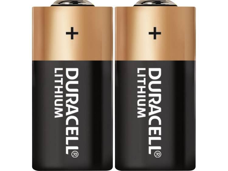 Duracell CR123 CR123A Fotobatterij Lithium 1400 mAh 3 V 2 stuk(s)