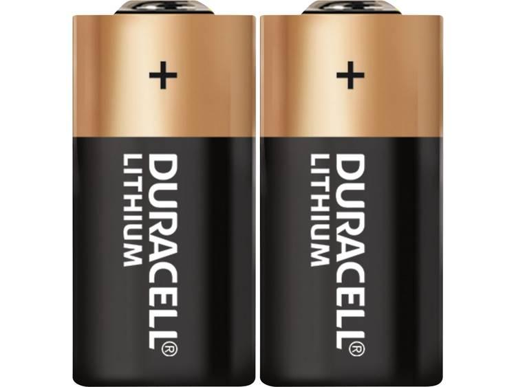 Duracell CR2 CR2 Fotobatterij Lithium 800 mAh 3 V 2 stuk(s)