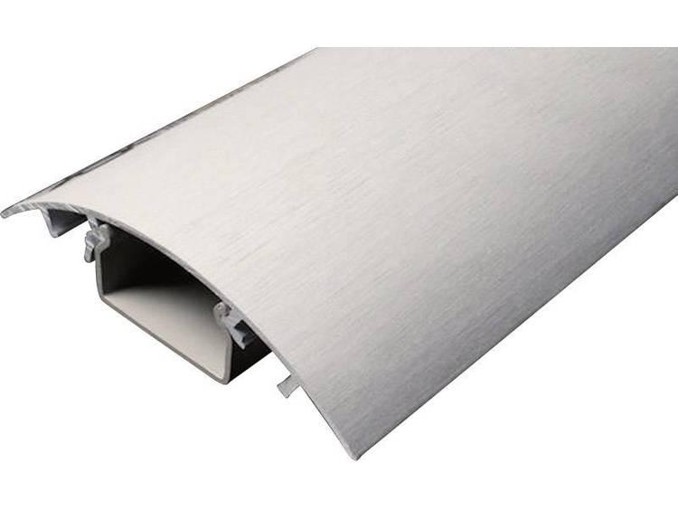 Kabelkanaal (l x b x h) 250 x 80 x 20 mm Aluminium (geborsteld) Alunovo Inhoud: 1 stuks
