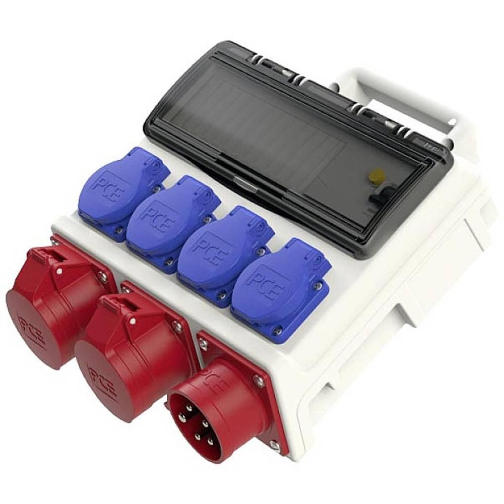 PCE 9004006 Kleine verdeelkast Mobil Horn FI 16 A 1CEE 16 A (380 V) 400 V IP44