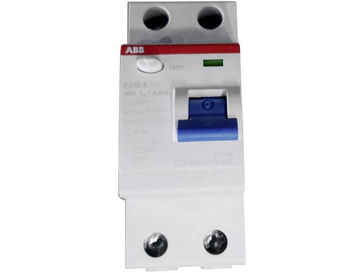 Aardlekschakelaar 40 A 230 V-AC, 400 V-AC ABB 2CSF202101R1400