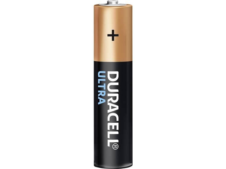 Duracell Ultra LR03 AAA batterij (potlood) Alkali-mangaan 1.5 V 4 stuks
