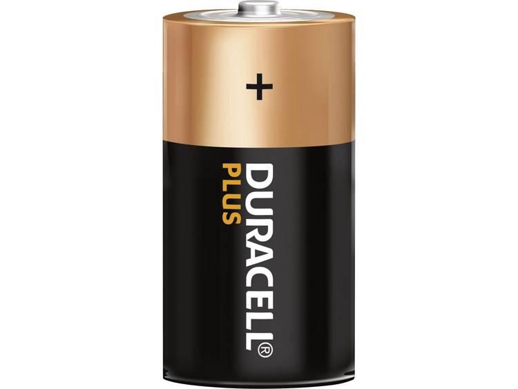 D batterij (mono) Duracell Plus LR20 Alkaline 1.5 V 2 stuk(s)