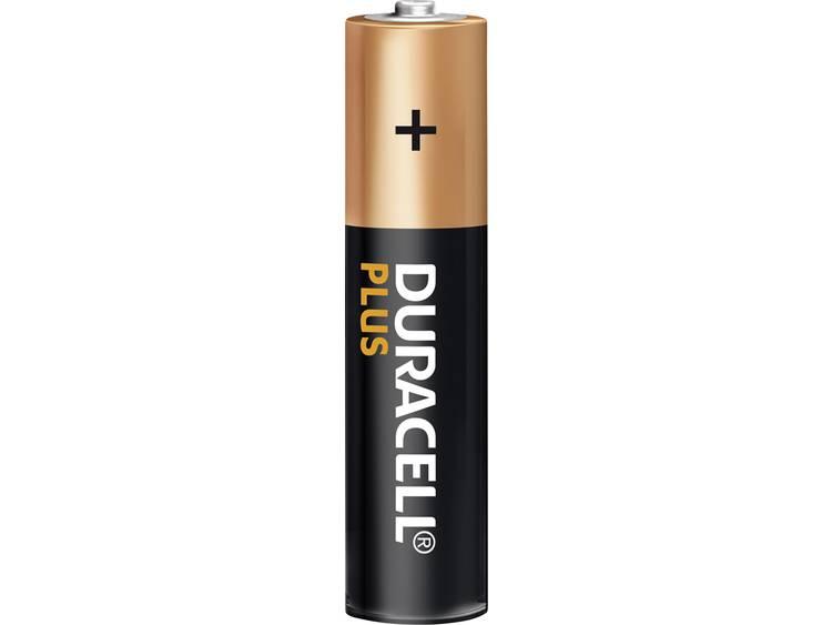 AAA batterij (potlood) Duracell Plus Power LR03 Alkaline 1.5 V 4 stuk(s)