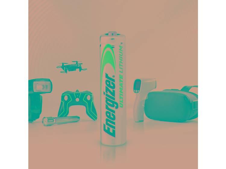 AAA batterij (potlood) Energizer Ultimate FR03 Lithium 1250 mAh 1.5 V 4 stuk(s)