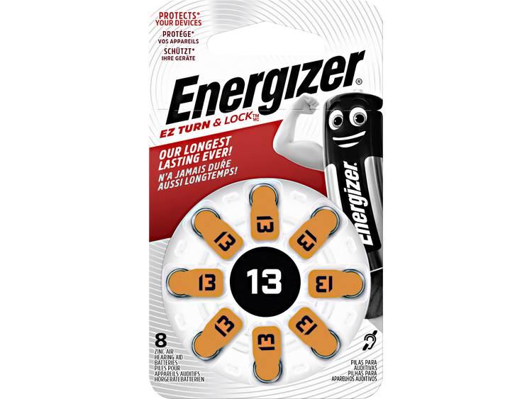 ZA13 Knoopcel Zink-lucht 1.4 V 280 mAh Energizer Hearing Aid PR48 8 stuk(s)