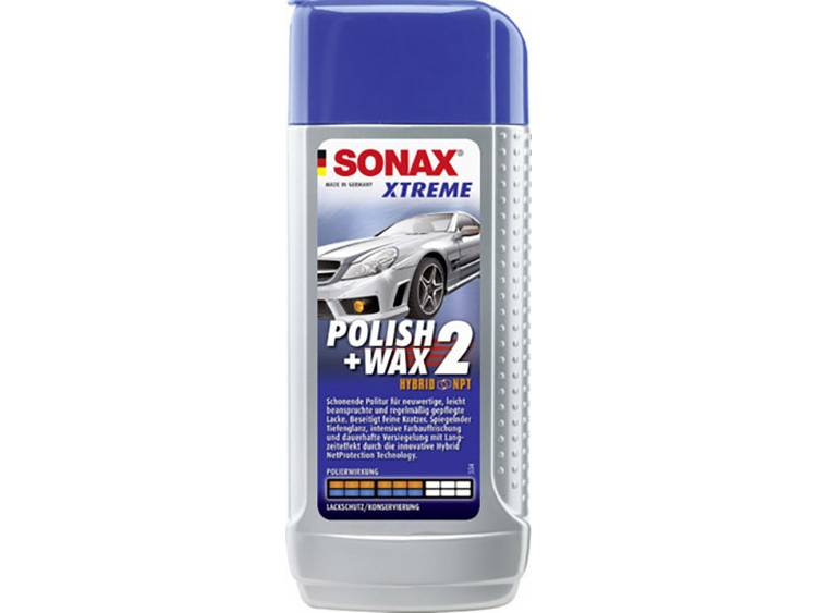 Sonax Xtreme Polish Wax 2 sensitive 250 ml Sonax Xtreme Polish Wax 2 NanoPro 207100