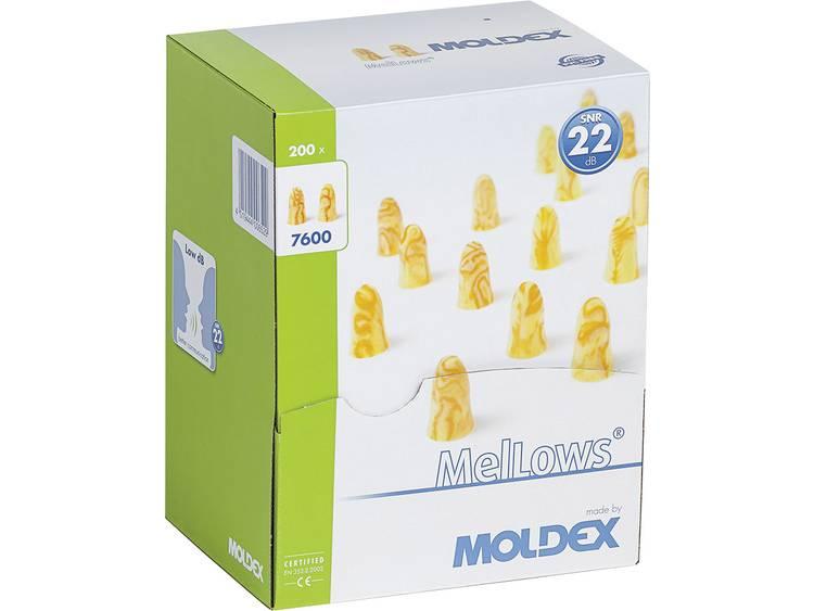 Moldex 760001 Gehoorbescherming MelLows, voor eenmalig gebruik 22 dB 200 paar