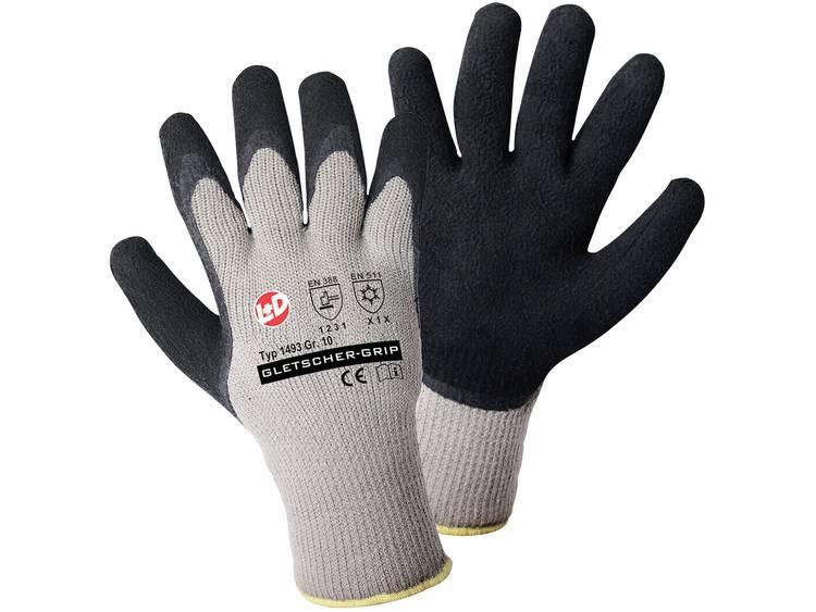 Griffy 1493 Gletscher-grip gebreide handschoen Gr.10 100% Acryl mit latex-opdruk