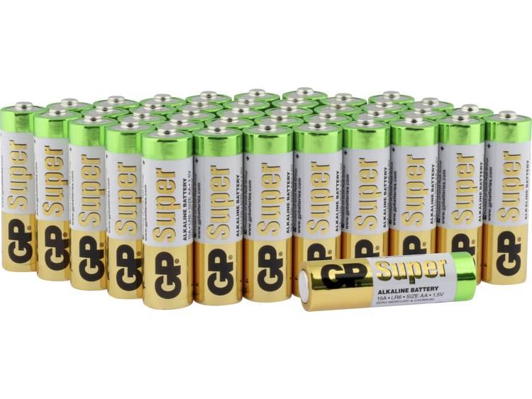 GP Batteries Super AA batterij (penlite) Alkaline 1.5 V 40 stuk(s)