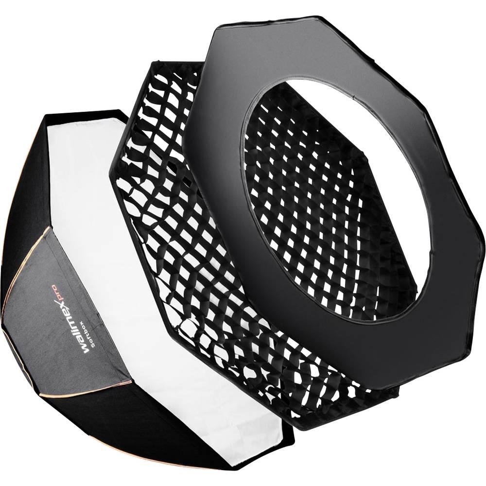 Walimex Pro Octagon Softbox PLUS OL Ø120 19388 Softbox (L x B x H) 1180 x 250 x 220 mm 1 st