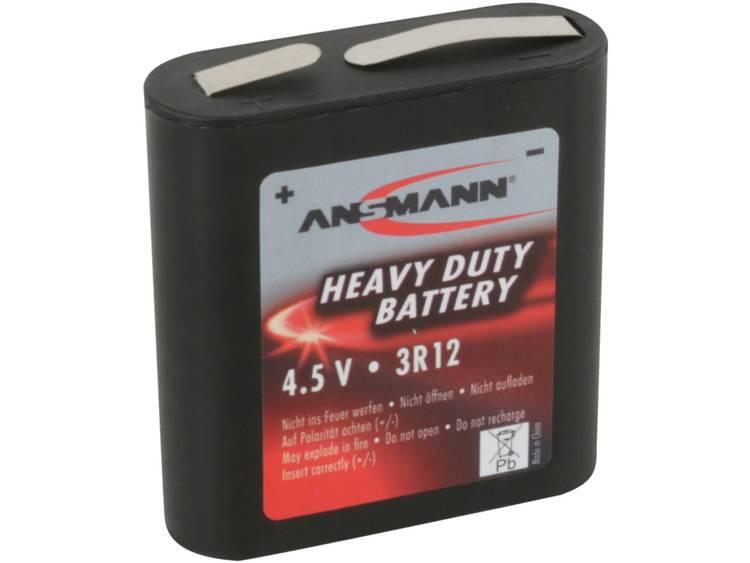 Platte batterij (4,5V) Ansmann 3R12 Zink-kool 1700 mAh 1 stuk(s)