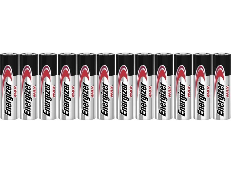 Energizer AA batterij (penlite) Alkali-mangaan 1.5 V 12 stuks