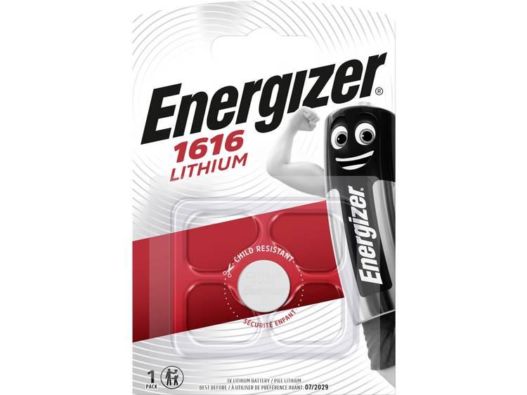 CR1616 Knoopcel Lithium 3 V 55 mAh Energizer CR1616 1 stuk(s)