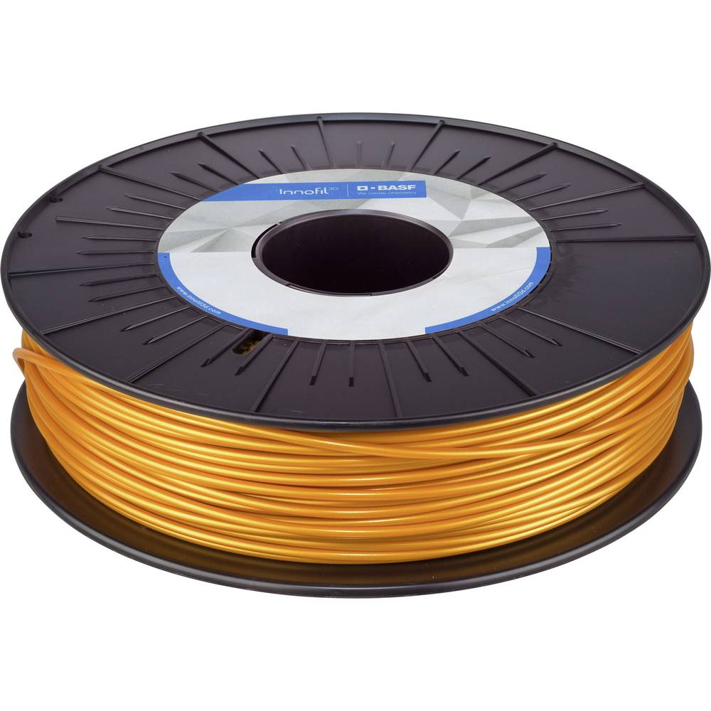 BASF Ultrafuse PLA-0014b075 PLA GOLD 3D-skrivare Filament PLA-plast 2.85 mm 750 g Guld 1 st
