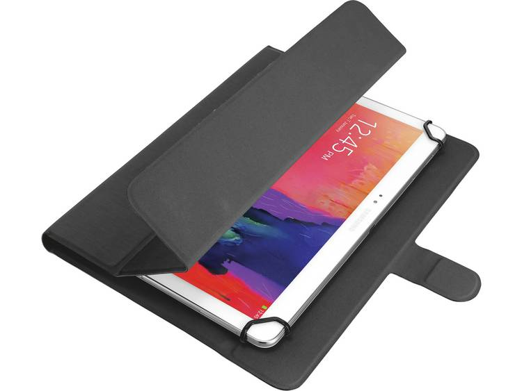 Trust Bookcase Universele tablethoes Geschikt voor displaygrootte: 25,7 cm (10,1) Zwart